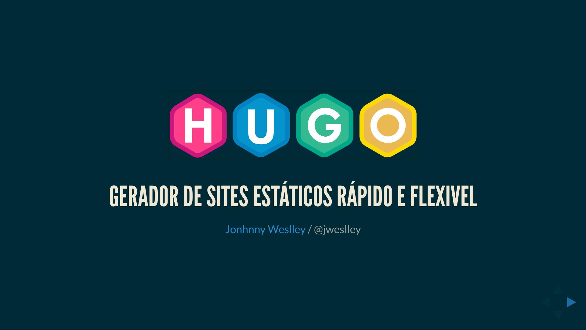Hugo: The world's fastest framework for building websites